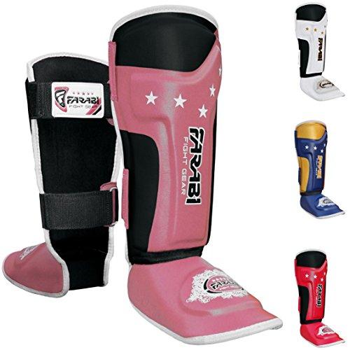 Kids shin pads shin instep Junior muay thai MMA shin pads shin instep leg and foot protector