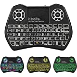 Backlit Mini Keyboard Touchpad Mouse,I9 Mini Wireless Keyboard with Touchpad and Multimedia Keys for Android TV Box Smart TV HTPC PS3 Smart Phone Tablet Mac Linux Windows OS