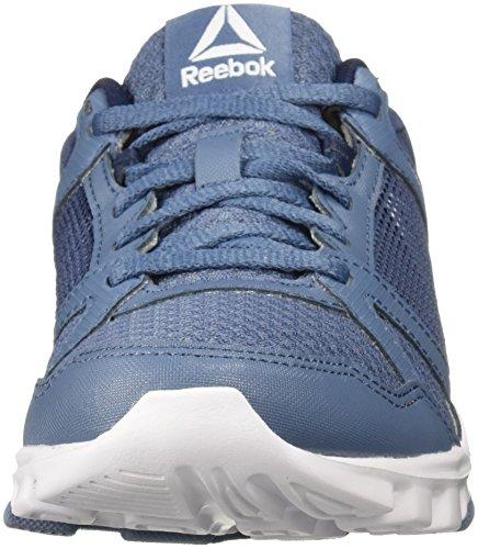 Zapatos Medios Cordon Yourflex Talla Blue Mujeres 1 collegiate Para Correr Bajos Navy amp; Reebok Trainette Slate YT8xn0w