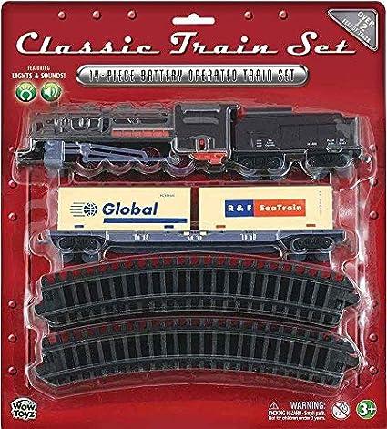WowToyz Classic Train Set Diesel Engine