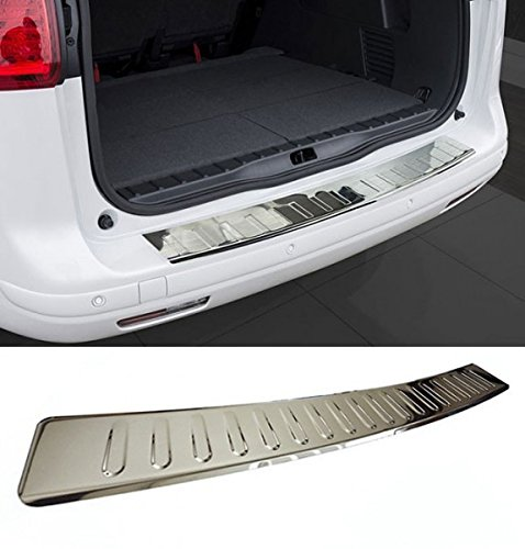 Rear Bumper Stainless Chrome Polished Steel Protector Trim Cover Guard For BMW X3 F25 M 15-Up ()