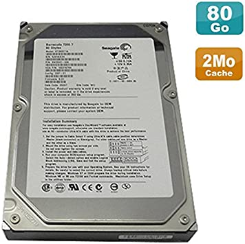 Disco duro de 80 GB, 3.5 IDE, Seagate Barracuda 7200.7 ATA ST380011A, 7200 rpm, 2 MB: Amazon.es: Electrónica