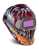 3M Speedglas Razor Dragon Welding Helmet 100 with Auto-Darkening Filter 100V- Shades 8-12, Model 07-0012-31RD