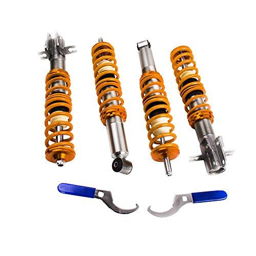 (maXpeedingrods Coilovers for Golf Rabbit MK1 1975-1984, Golf Cabriolet 1980-1994, Jetta MK1 1979-1984, Pickup MK1 1980-1983, Scirocco MK1 MK2 1975-1989 -)