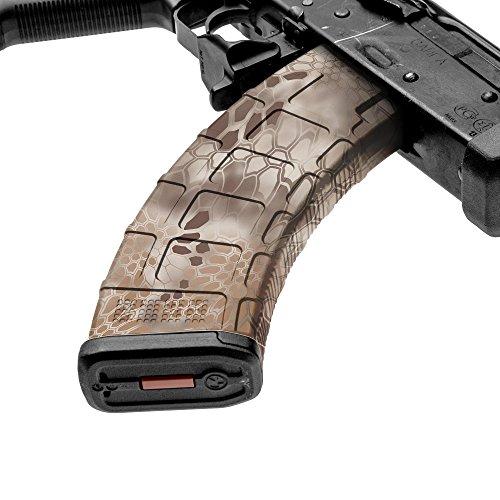 GunSkins AK-47 Mag Skin Camouflage Kit DIY Vinyl Magazine Wrap - Singles (Kryptek Nomad)