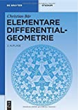 img - for Elementare Differentialgeometrie (de Gruyter Lehrbuch) (German Edition) by Christian B r (2010-01-29) book / textbook / text book