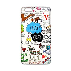 The Fault in Our Stars Okay? Okay Printed 3D Phone Case for iPhone 6 Plus