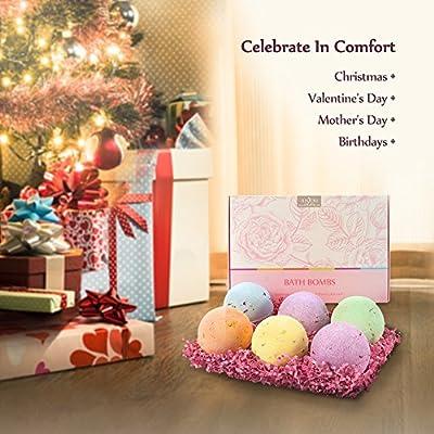 Anjou Bath Bombs Gift Set for Christmas