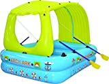 Arch Ark- 10-in-1 Inflatable raft+boat+pool+waterslide+mattress+tent