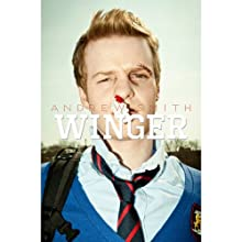 Winger Audiobook by Andrew Smith Narrated by Mark Boyett