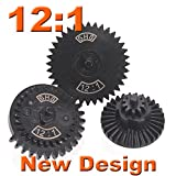 12:1 SHS New Design CNC Extreme High Speed Gear for Ver.2/ 3 Airsoft Gearbox AEG [For Airsoft Only]