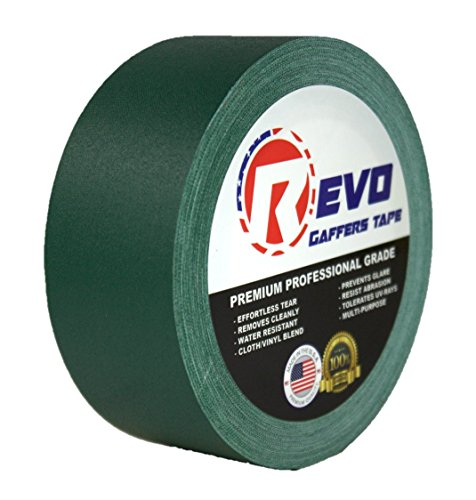 revo-premium-professional-gaffers-tape-2-x-30-yards-made-in-usa-green-gaffers-non-reflective-tape-ca