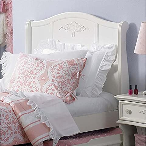 ioneyes furniture 352-br11h arielle twin sleigh headboard, 42