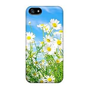 Defender Case With Nice Appearance (daisies Flowers) For HTC One M7 Phone Case Cover