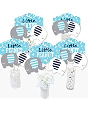 Blue Elephant Table Toppers - Set of 15