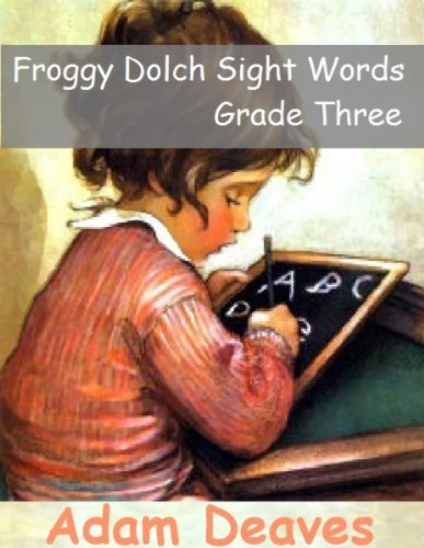 Froggy Dolch Sight Words - Third Grade