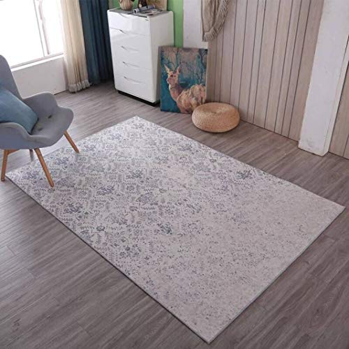 New European Classic Retro Royal Carpets Fashion Simple Floor Mats Absorbent Non-Slip Rugs for Living Room