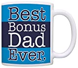Bonus Dad Gifts Best Bonus Dad Ever Father's Day Gift Coffee Mug Tea...