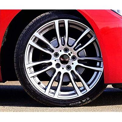 4 x 50mm 3D Stickers for Wheel Center Caps A 4050: Automotive