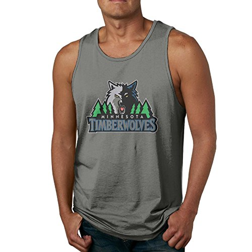 NBA-Minnesota-Timberwolves-Badge Tank Top Workout ()