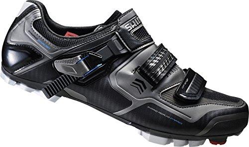 Shimano MTB guantes de ciclismo bicicleta GUANTES para adultos SH de xc61l gr. 38SPD Velcro de/ratschenv., E de shxc 61l38 Negro - multicolor