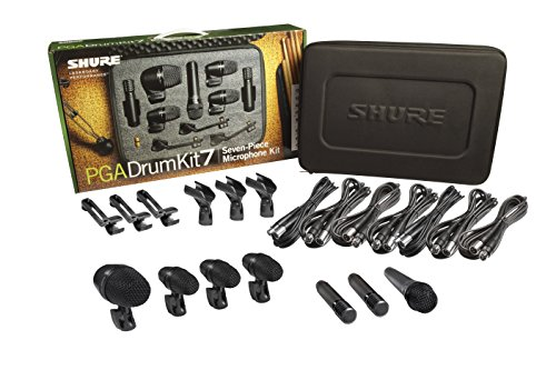 Shure PGADRUMKIT7 7-Piece Drum Microphone Kit