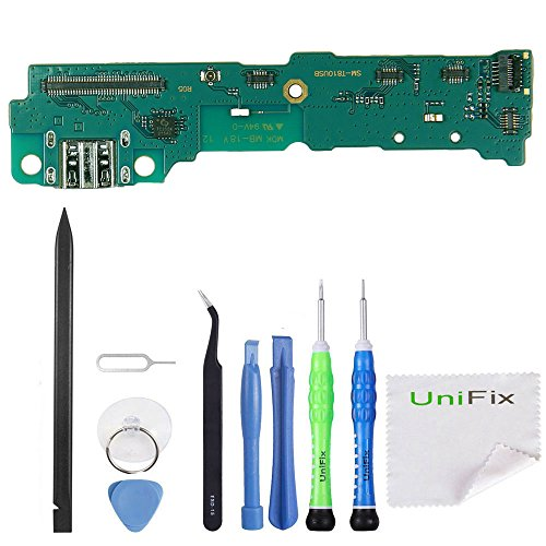 Unifix USB Charging Port Dock Charger Flex with Microphone for Samsung Galaxy Tab S2 9.7 T810 T815 T817 T819 + Repair Toolkit by Unifix