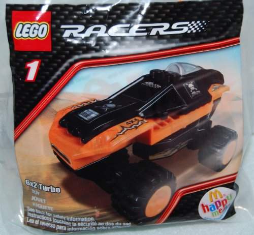 McDonalds Happy Meal 2009 Lego Racers - 6X2 Turbo #1