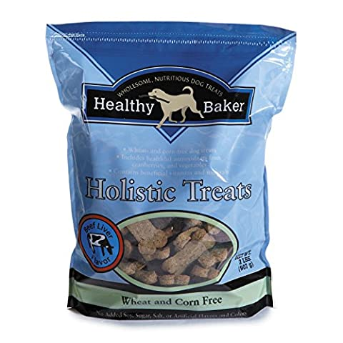 Healthy Baker Holistic Dog Treats - Wholesome and Delicious Treats for Dogs - Beef, 2