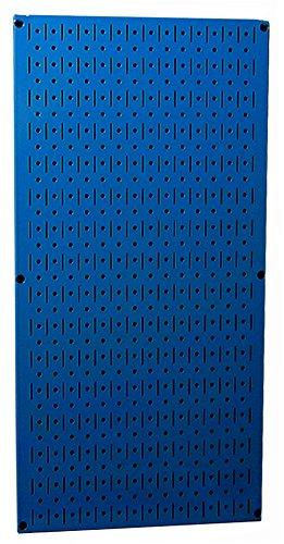 Wall Control 30-P-3216 BU 32' x 16' Blue Metal Pegboard Tool Board Panel