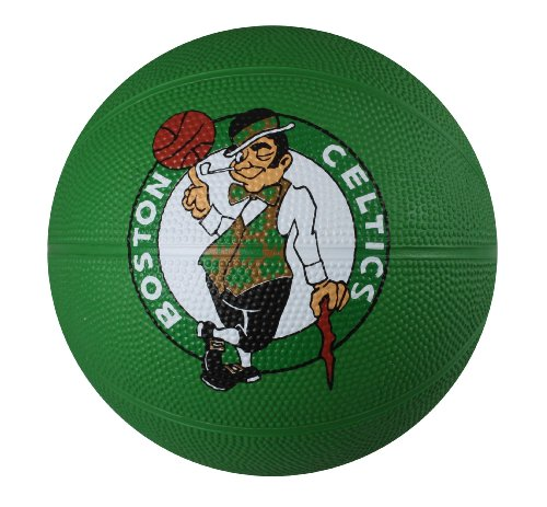 fan products of Spalding NBA Boston Celtics Mini Rubber Basketball