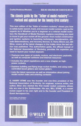 Handbook of Model Rocketry, 7th Edition (NAR Official Handbook)
