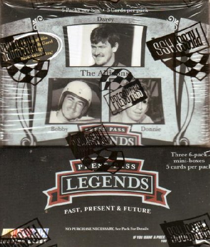 Press Pass Legends Racing (2006 Press Pass Legends Racing Cards Unopened Hobby Box)