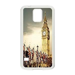 Custom LiuXueFei Phone caseLondon Big Ben For SamSung Galaxy S4 Case -Style-3