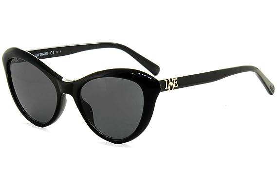 Love Moschino MOL015/S Gafas de sol, Negro (Black), 53.0 ...