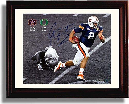 Framed Auburn Tigers Cam Newton