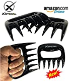 XSpecial Pork Shredder Meat Claws - Used for Pulled Pork, Carve, Serve, Handle & Lift > Brisket Chicken Turkey From Grill, Oven, BBQ (Black)
