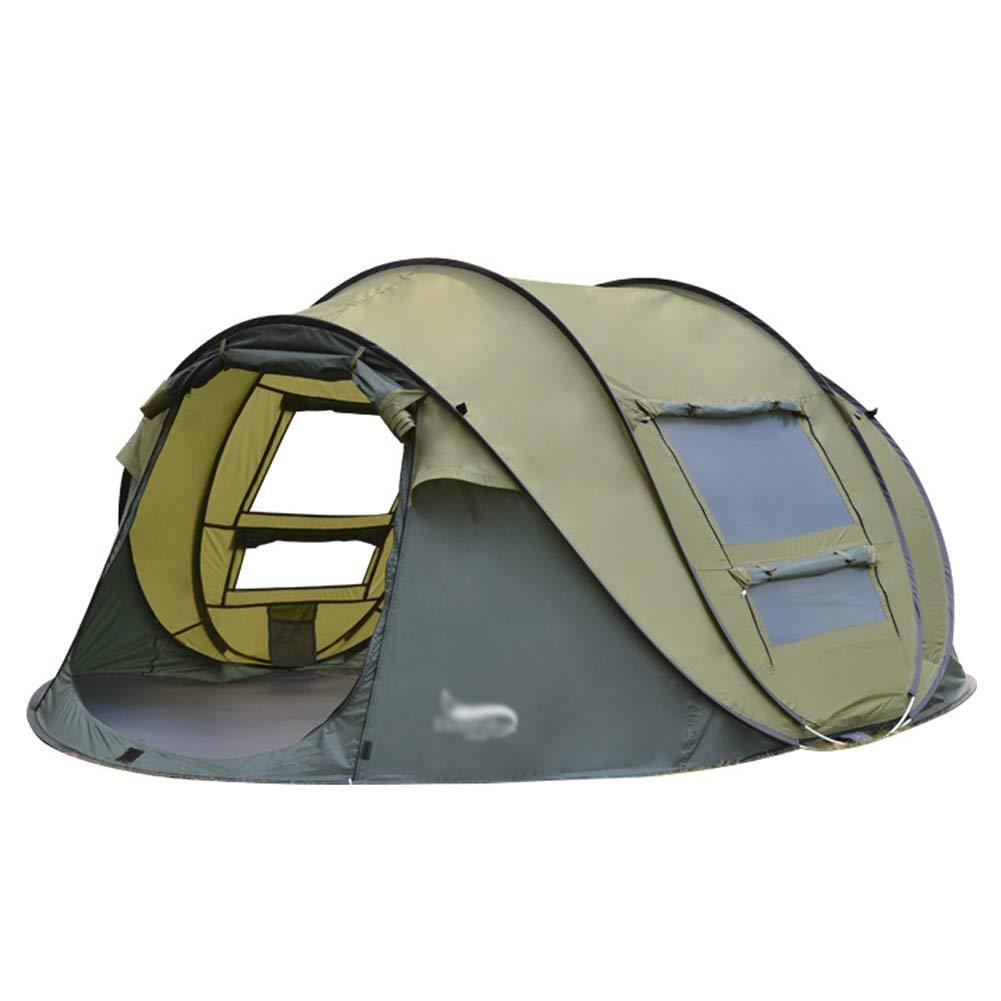 Xljh Neue Automatische Zelt Geschwindigkeit Offene Familie Zelt Party Wandern Auto Strand Zelt Angeln Reise Outdoor Camping Zelt,Green
