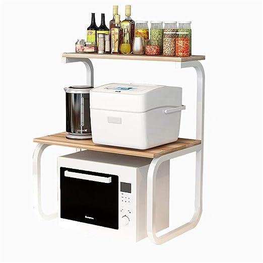 Estante de cocina Estante de horno microondas Estante de ...