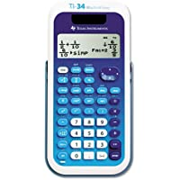 Texas Instruments : TI-34 MultiView Scientific Calculator -:- Sold as 2 Packs of - 1 - / - Total of 2 Each
