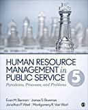 img - for Human Resource Management in Public Service: Paradoxes, Processes, and Problems book / textbook / text book