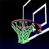 Kid Technologies Basketball NET Hoop standard durable nylon universal USA sport (Glow-in-the-dark)
