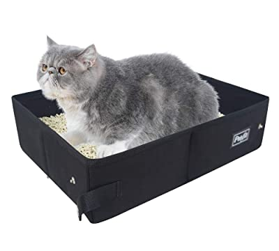 Petsfit Fabric Portable/Foldable Litter Box