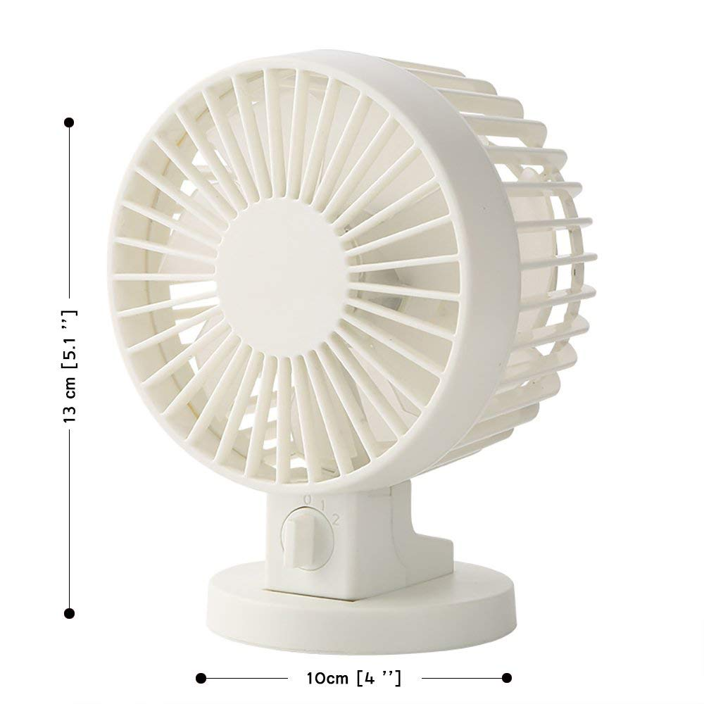 Usb Desk Fans Small Quiet Portable Desktop Handheld Personal Fan Adjustable Wind Mute Futaba For Travel Family