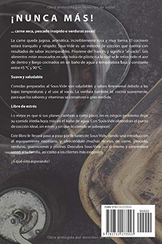 Sous-Vide: La Cocción al Vacío (Spanish Edition): François ...