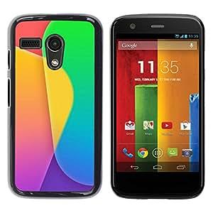 All Phone Most Case / Oferta Especial Duro Teléfono Inteligente PC Cáscara Funda Cubierta de proteccion Caso / Hard Case Motorola Moto G 1 1ST Gen // Color Pattern