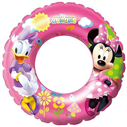 Bestway 56cm Filles Bouée piscine Pataugeoire jouet Minnie Mouse Mickey Mouse Clubhouse