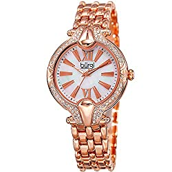 Women's Swarovski Crystal Accented Bezel Watch