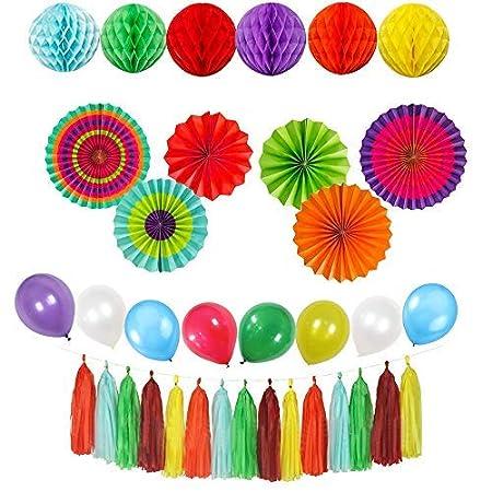 Fiesta Party Decorations Pack para niños Adulto cumpleaños ...