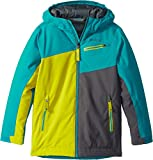 Marmot Kids Boy's Thunder Jacket (Little Kids/Big Kids) Enamel Blue/Citronelle Small